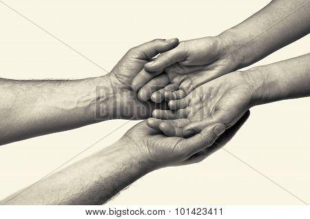 Hands - trust