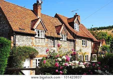 Pretty village cottage, Turville.
