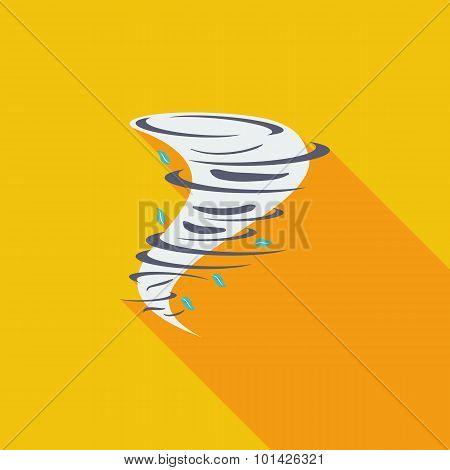 Tornado icon.