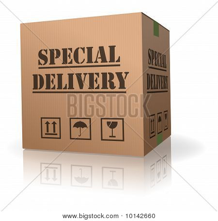 Special Delivery wichtige Sendung