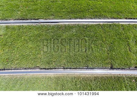 Green Grass Tram Tracks