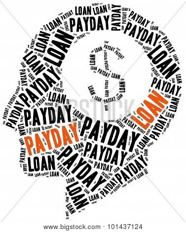 Payday Loan Or Quick Credit Concept.