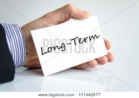 Long-term Text Concept