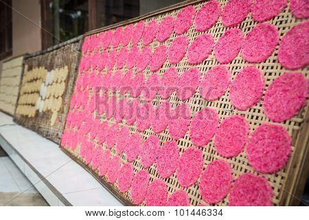 Balinese rice cakes