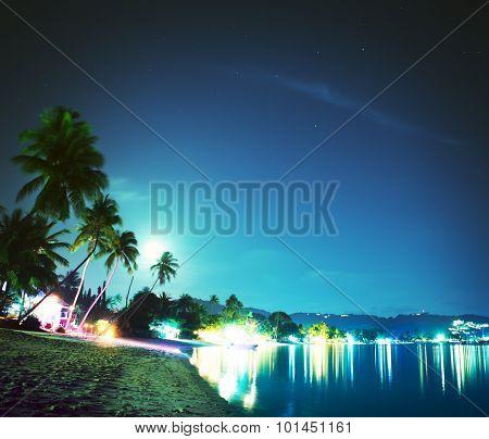 Koh Samui At Night
