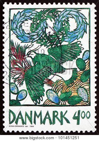Postage Stamp Denmark 1999 Harbinger Of Spring