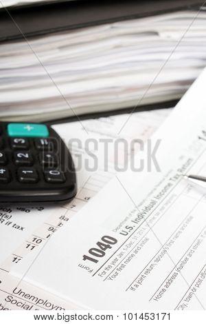 Individual tax form 1040