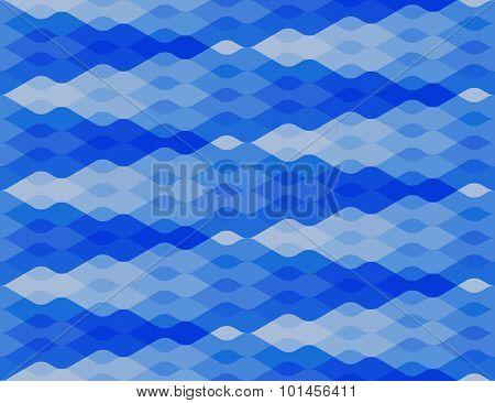 Seamless Wavy Pattern