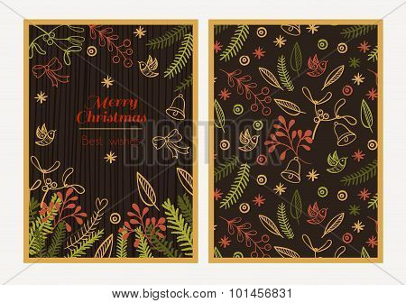 Postcard Merry Christmas