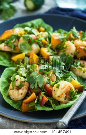 Shrimp Taco Cups