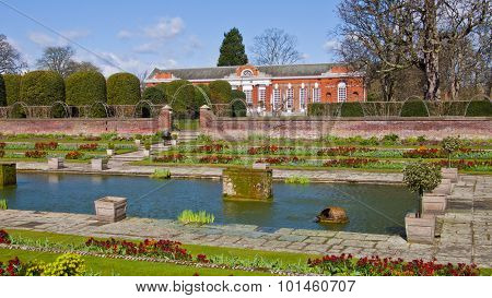 Kensington Palace And Gardens, London, England, United Kingdom.