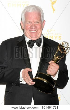 LOS ANGELES - SEP 12:  Spike Jones, Jr. at the Primetime Creative Emmy Awards Press Room at the Microsoft Theater on September 12, 2015 in Los Angeles, CA