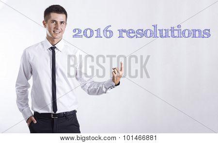 2016 Resolutions 1. 2. 3.