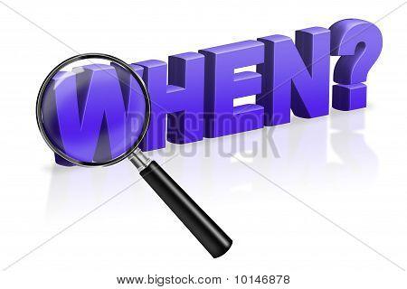 When Time Period Search Button