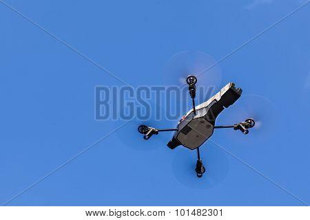 Midair Drone Shot