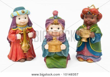 Bethlehem drei Weisen mit Geschenken