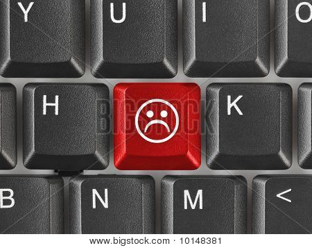 Computer Keyboard With Smile Key