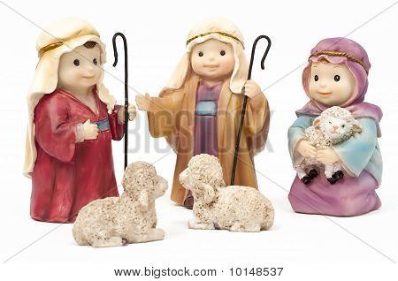 Bethlehem, Hirten und Schafe