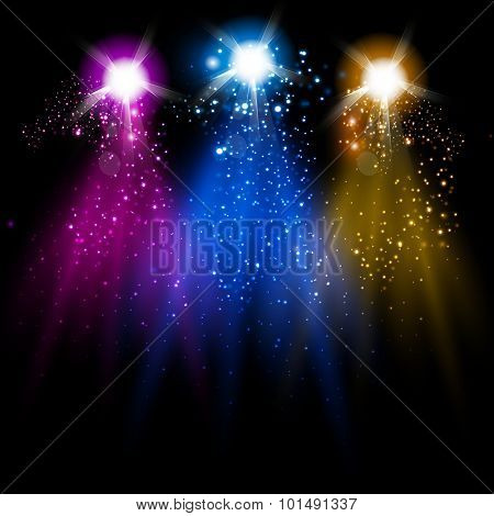disco light and Sparkling you can easy editable