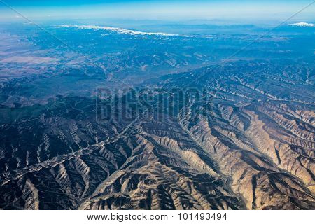 Interesting River Valleys and Chiseled Mountains