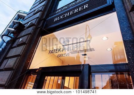 Patek Philippe Flagship Store Facade