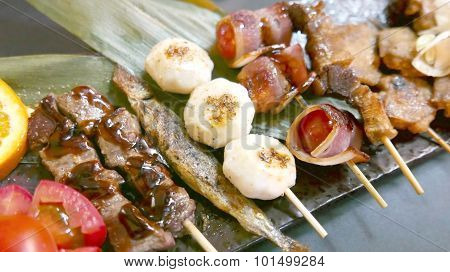 Japanese culture, barbecue foods