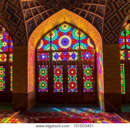 Nasir Al-Mulk Mosque design