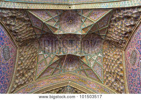 Nasir Al-Mulk Mosque five concaves design
