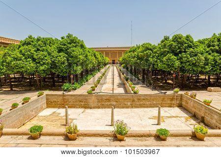 Shiraz Citadel garden view