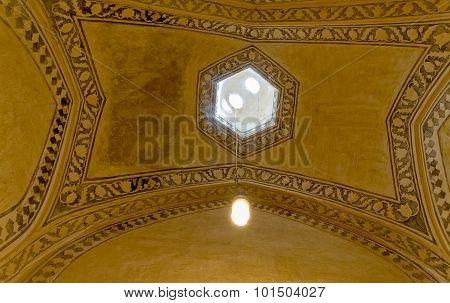 Shiraz Citadel room ceiling