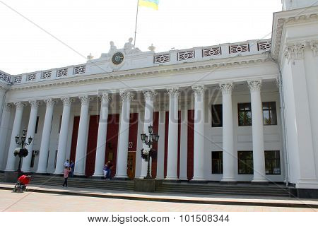 Palace of City Council in Odessa