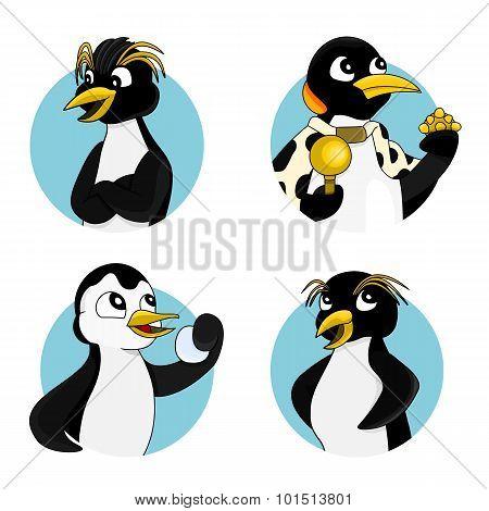 Cartoon Penguin Collection