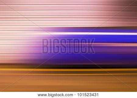 Underground Train, Abstract Motion Blur