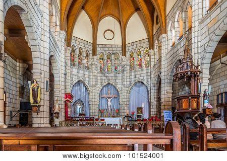 Inside Of Andohalo Cathedral - Antananarivo