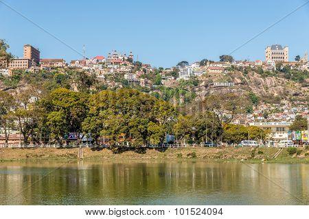 View At The Antananarivo From Lake Anosy