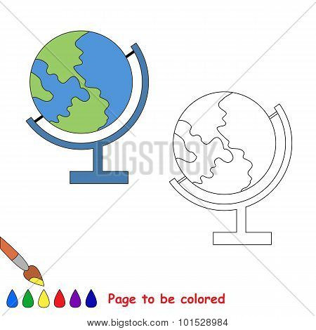 Color the EARTH by sample.