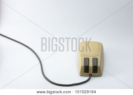 Old Style Computer Mouse