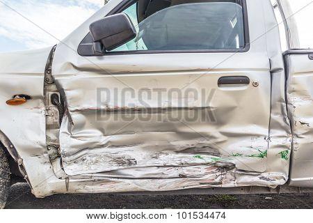 Door Of Crash Car