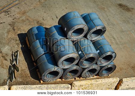 Stacked Steel Roll