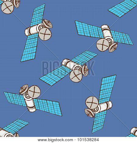 Sketch Space Satelite