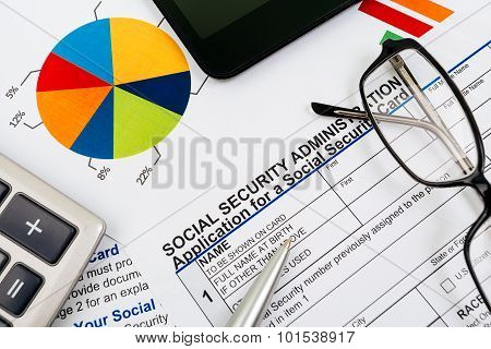 Application for social security