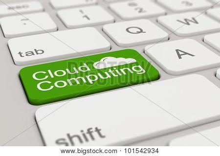 Keyboard - Cloud Computing - Green