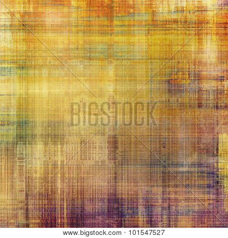Old texture with delicate abstract pattern as grunge background. With different color patterns: yellow (beige); purple (violet); brown; red (orange)