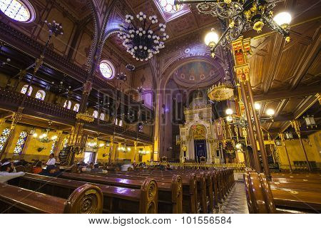 Dohany Street Synagogue In Budapest