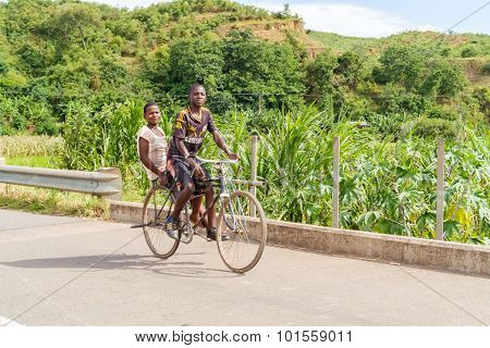 Cycling In Malawi
