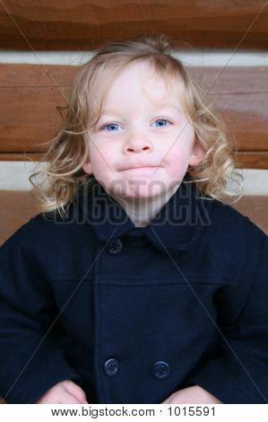 Girl In Pea Coat
