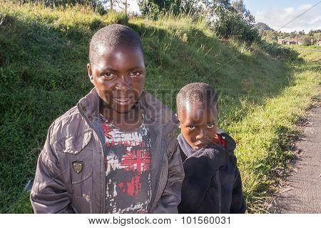 Children In Tanzania