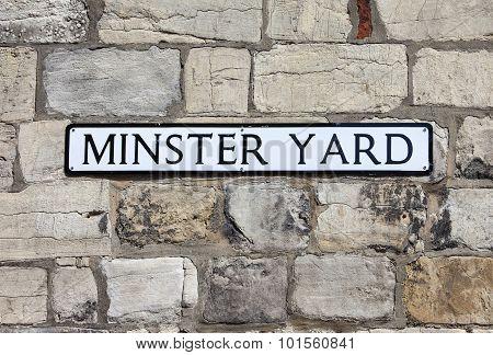 Minster Yard In York