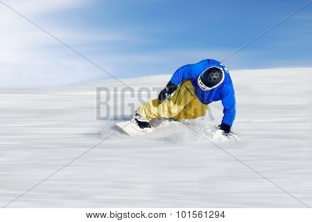 Faster Snowboarder