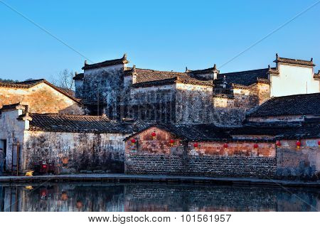 Ancient architecture in Anhui Hongcun